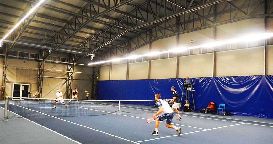 constructii sali de sport pentru tenis
