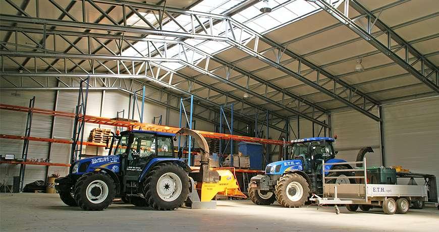 Constructii hale Agricole de depozitare