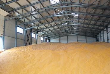 hale metalice - depozit cereale