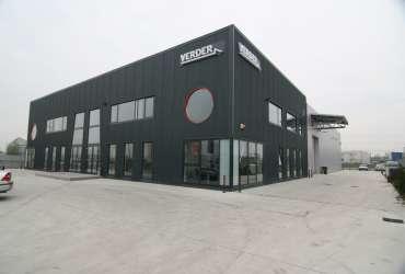 hale industriale - showroom