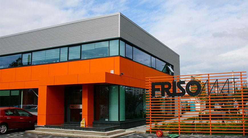 Sediu firma hala metalica Frisomat
