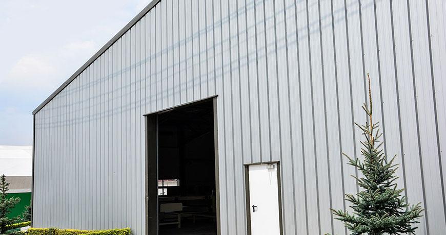 exterior hala productie metalica