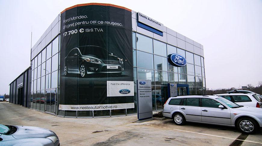 hale metalice showroom auto