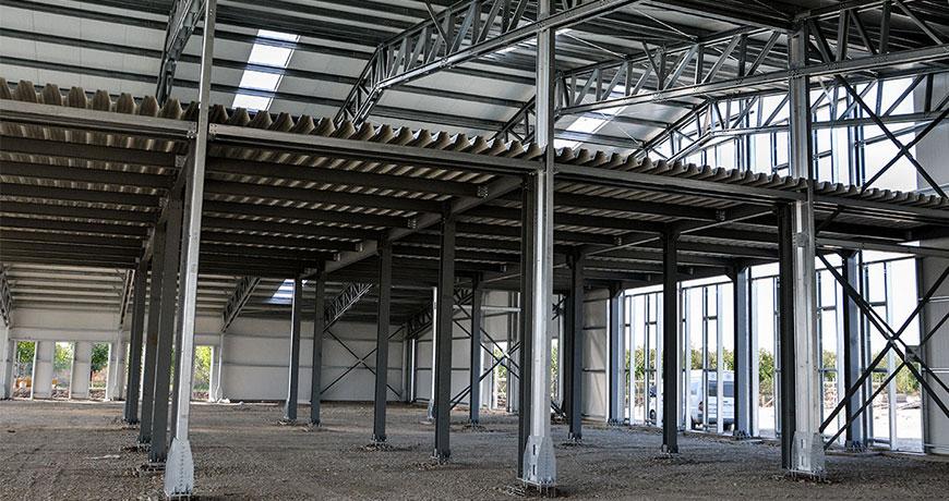 structura hale productie textile