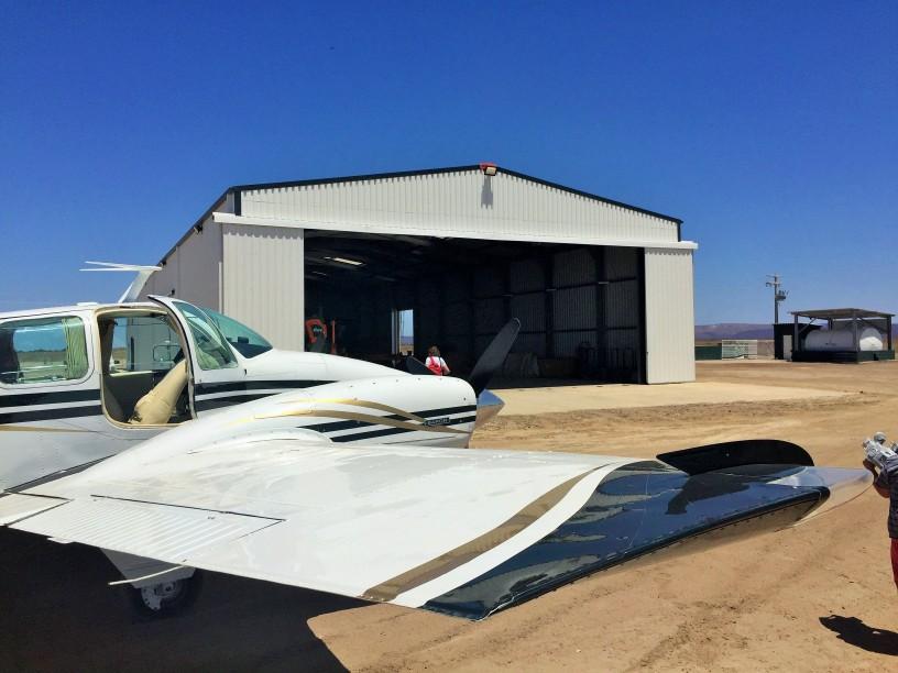 hangare din oțel pentru avioane