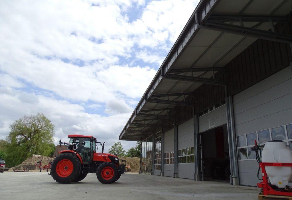 construcție clădiri de depozitare agricole