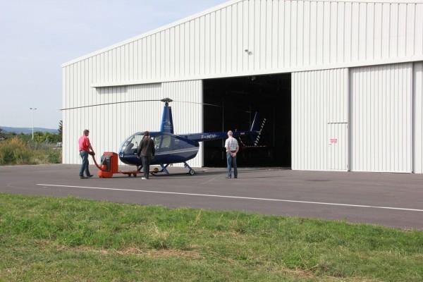 hangare din oțel pentru elicoptere