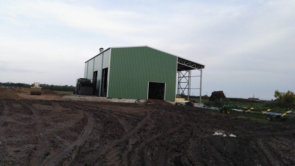 clădire depozitare agricolă din oțel