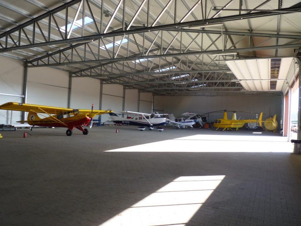 hangare din oțel pentru aviație