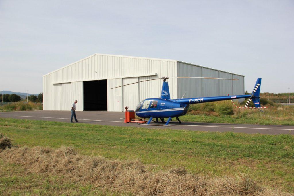 hangare rezistente elicoptere