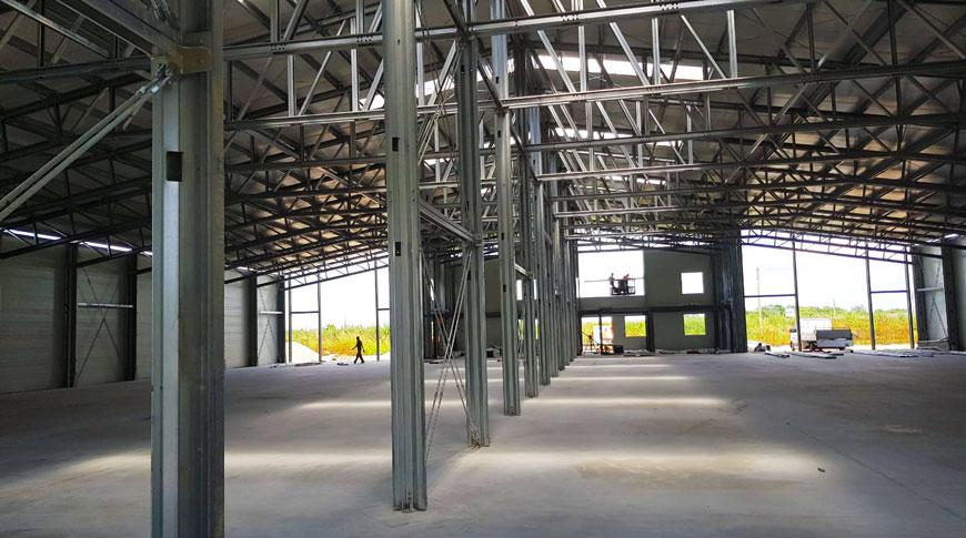Interior depozit logistic