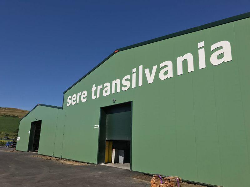 exterior hala verde productie sere transilvania