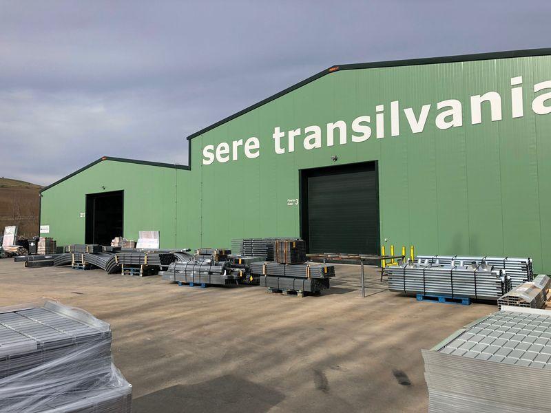 fronton hala productie sere transilvania verde