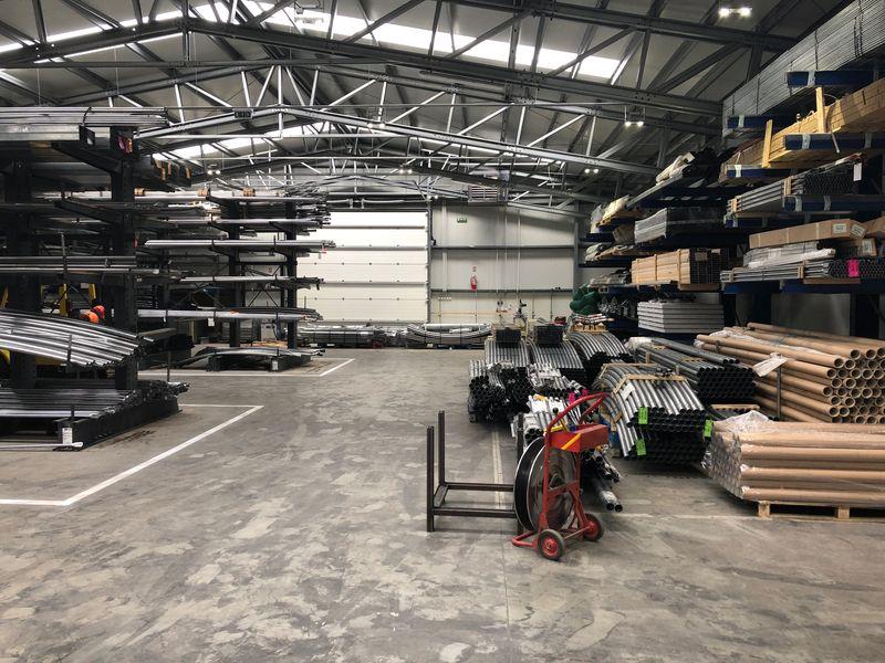 interior hala productie sere transilvania