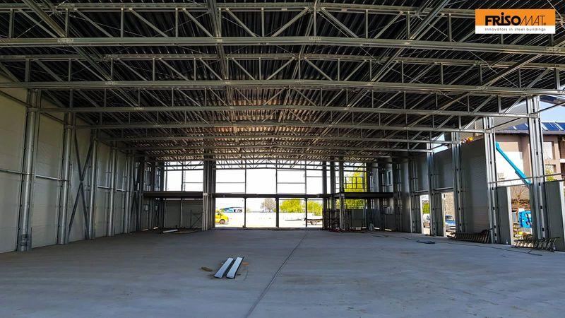 interior structura metalica sala evenimente nedcom frisomat