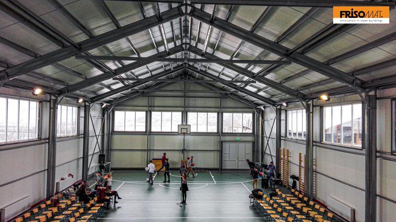 interior pardoseala sala sport teka gherla frisomat
